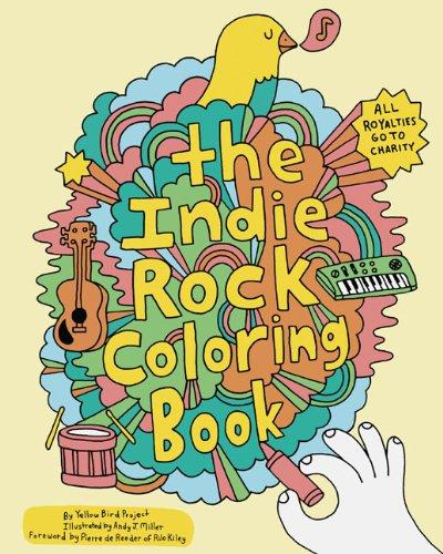 9780811870948: Indie Rock Coloring Book