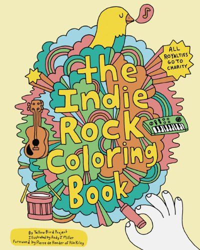 9780811870948: Indie Rock Coloring Book