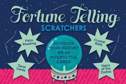 9780811871358: Fortune-Telling Scratchers: Discover Your Destiny on 40 Interactive Cards!