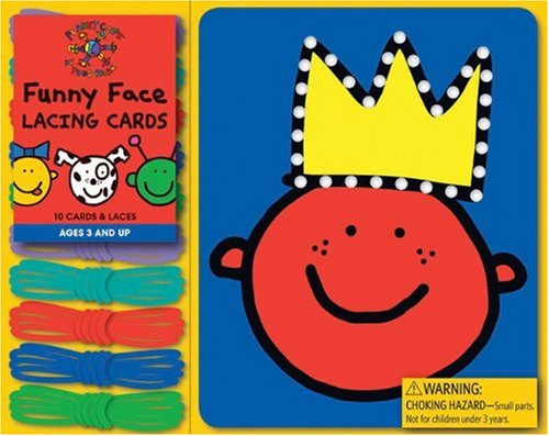 9780811871549: Todd Parr Funny Face Lacing Cards