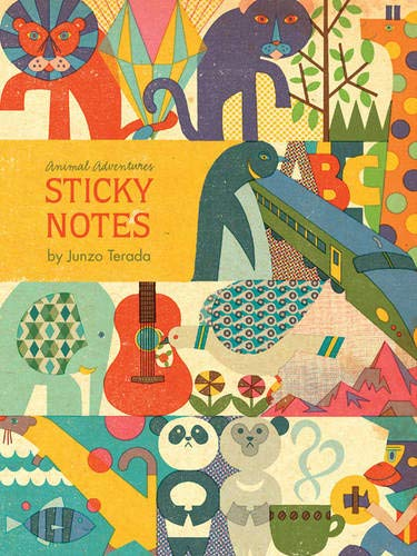 9780811872614: Animal Adventures Sticky Notes