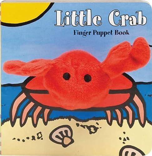 Little Crab Finger Puppet Book: Chronicle Books Llc