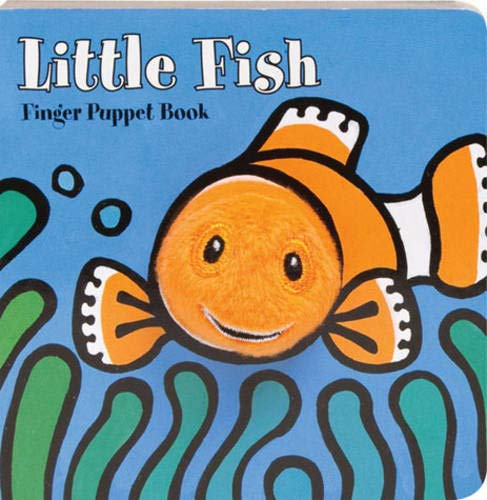 9780811873444: Little Fish Finger Puppet Book (Finger Puppet Books)