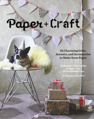9780811874625: Paper + Craft: 25 Charming Gifts, Accents, and Accessories to Make from Paper