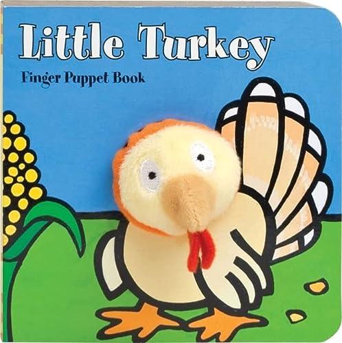 9780811875134: Little Turkey: Finger Puppet Book (Little Finger Puppet Board Books)