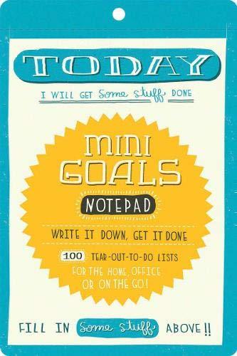 9780811875240: Mini Goals Notepad