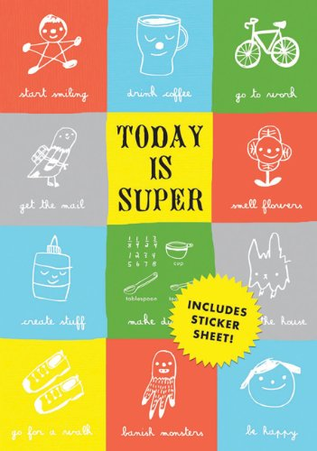 9780811875721: Today Is Super (Journal)