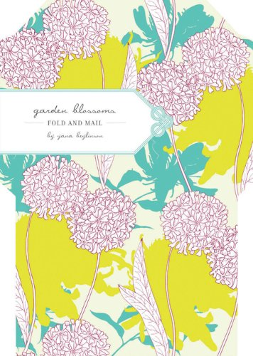9780811876087: Garden Blossoms Fold and Mail Stationery
