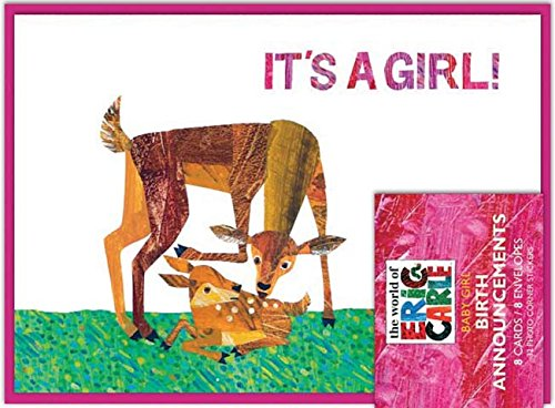The World of Eric Carle(TM) It's a Girl! Birth Announcements (0811876128) by Chronicle Books