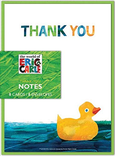 9780811876179: The World of Eric Carle(TM) Baby Shower Thank-You Notes