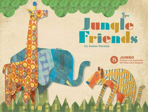 9780811876315: Jungle Friends: 5 Jumbo Punch-Out Animals for Play and Display