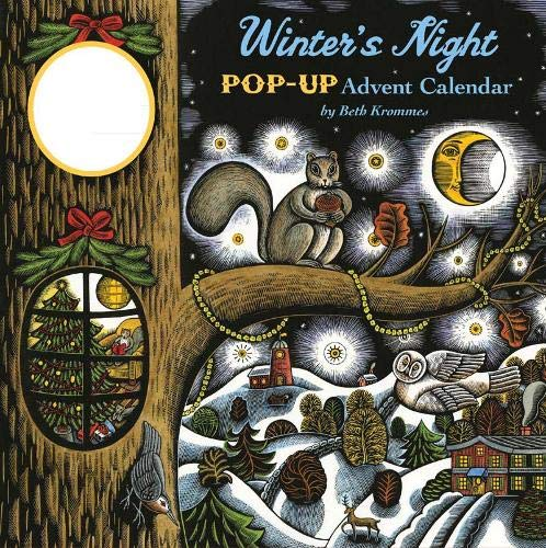 9780811876407: Winter's Night Pop-up Calendar (Advent Calendar)