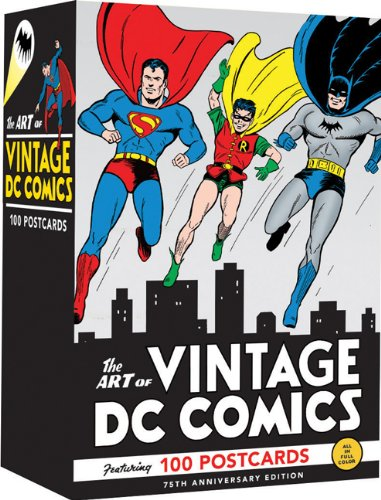9780811876506: The Art of Vintage DC Comics: 100 Postcards