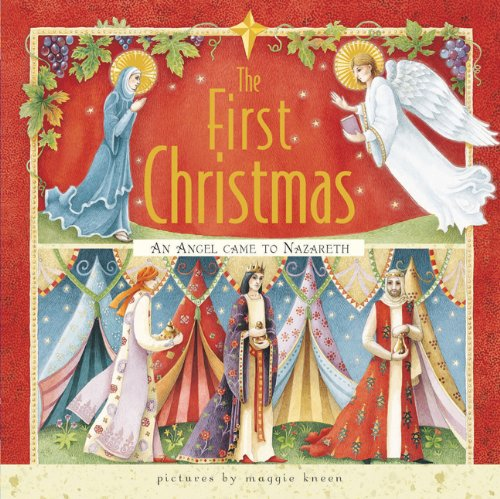 9780811876629: The First Christmas mini edition: An Angel Came to Nazareth