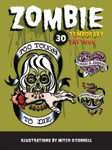 9780811876773: Zombie Temporary Tattoos: Temporary Tattoos