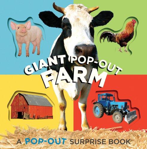 9780811876865: Giant Pop-Out Farm (Pop-Out Surprise Books)