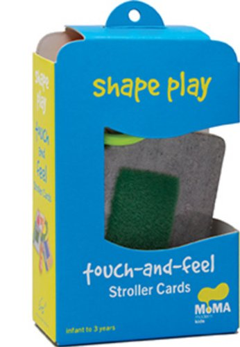 9780811876889: MoMA Shapes and Colors: Touch-and-feel Stroller Card (Museum of Modern Art)