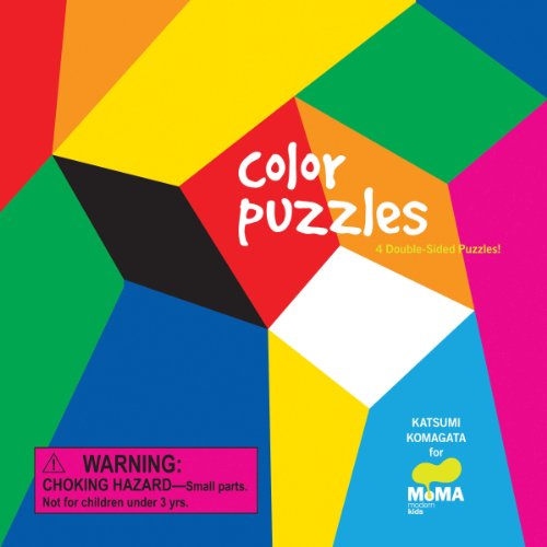 MoMA Color Puzzles: 4 Double-Sided Puzzles: Katsumi Komagata