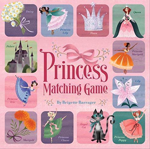 9780811876971: Princess Matching Game