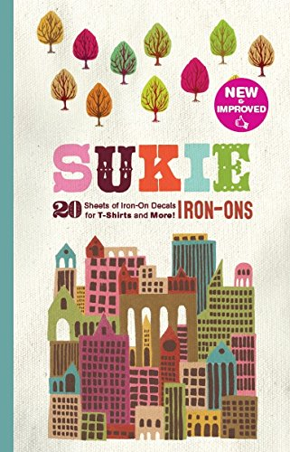 9780811877275: Sukie Iron-Ons: 20 Sheets of Iron-on Decals for T-shirts and More!