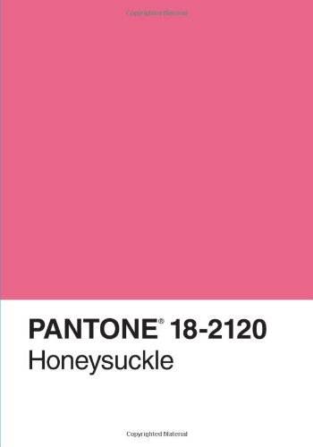 9780811877756: Pantone Honeysuckle 2011 Color of the Year Journal