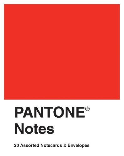 9780811877763: Pantone Notes: 20 Assorted Notecards & Envelopes