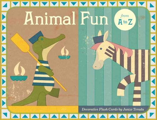 9780811877794: Animal Fun from A to Z: Decorative Flash Cards
