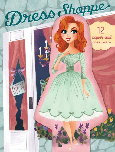 9780811877947: Dress Shoppe: 12 Paper Doll Notecards