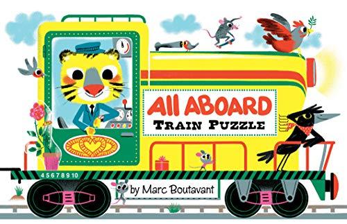 9780811878500: All Aboard Train Puzzle