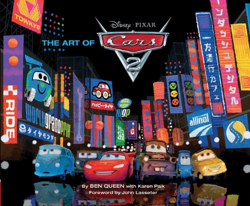 9780811878913: The Art of Cars 2