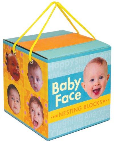 9780811878999: Baby Face Nesting Blocks