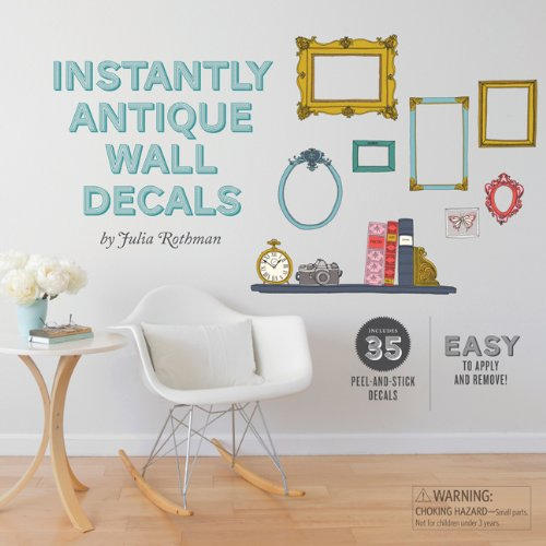 9780811879439: Julia Rothman Wall Decals