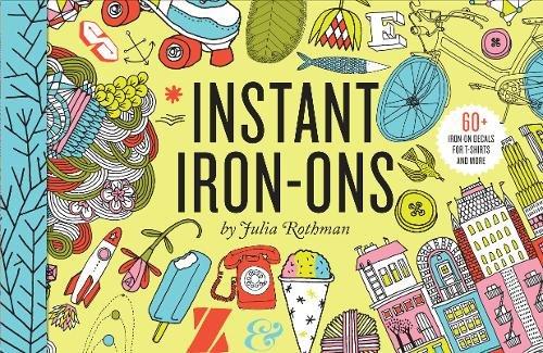 9780811879446: Julia Rothman Iron-Ons