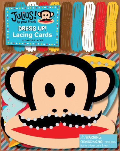 9780811879514: Julius! Dress Up! Lacing Cards