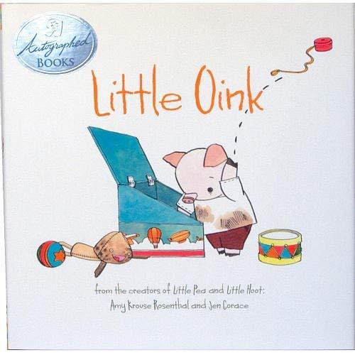 Little Oink Book Autographed Copy Chronicle Books LLC Autographed Books