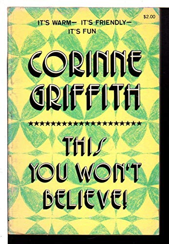 This You Won't Believe!: Griffith, Corinne