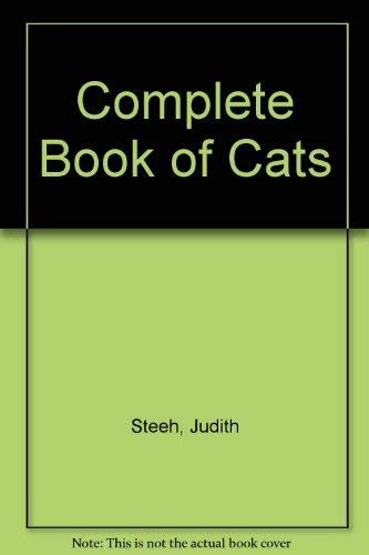 9780811906227: Complete Book of Cats