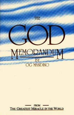 The God Memorandum: Lorenz Books