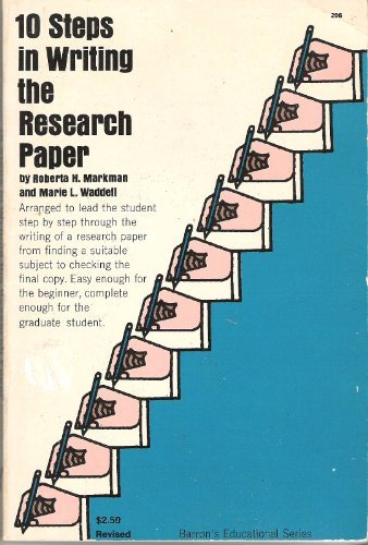 A writing guide of steps to writing a research paper Online Purdue Online  Writing Lab Purdue