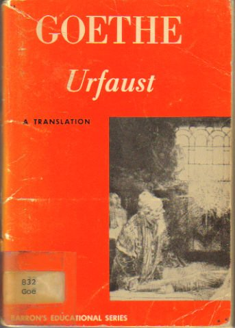 9780812002133: The Urfaust: A Translation