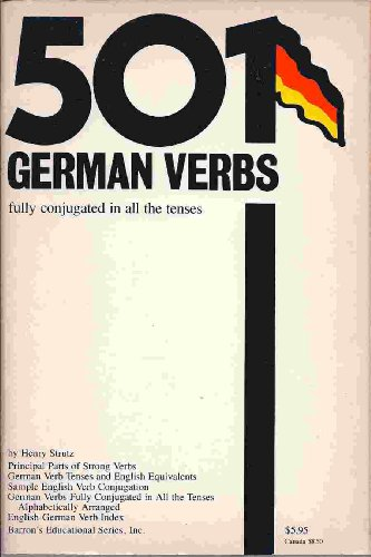 9780812004342: Dictionary of 501 German Verbs