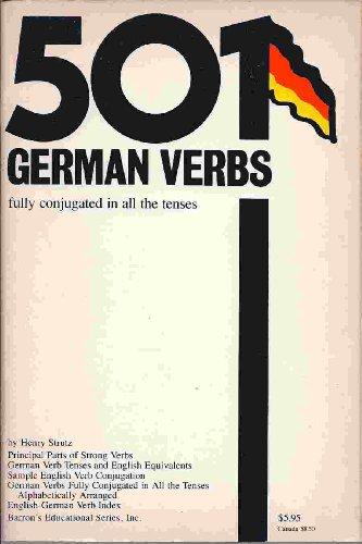 501 German Verbs: Strutz, Henry