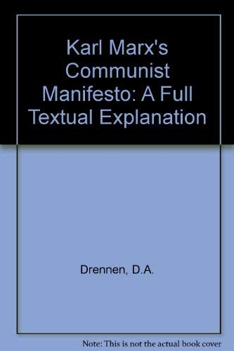 an introduction to the communist manifesto by karl marx Introduction to marx this introduction to marxism divides itself into three parts: in the first,  the communist manifesto karl marx and frederick engels v.