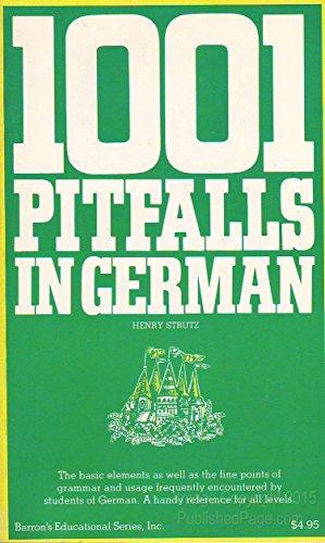 9780812005905: 1001 Pitfalls in German