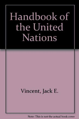 9780812006438: Handbook of the United Nations