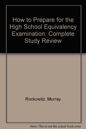 9780812006452: How to Prepare for the High School Equivalency Examination: Complete Study Review