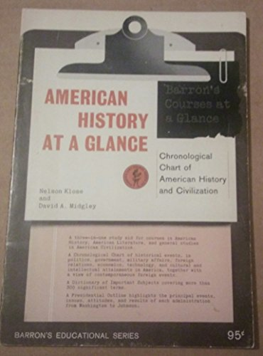 American History at a Glance: Nelson Klose, David
