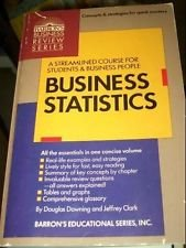 9780812013849: Business Statistics (Barron's business review series)