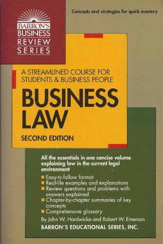 9780812013856: Business Law