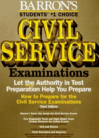 9780812014402: How to Prepare for the Civil Service Examinations: For Stenographer, Typist, Clerk, and Office Machine Operator (BARRON'S HOW TO PREPARE FOR THE CIVIL SERVICE EXAMINATIONS)